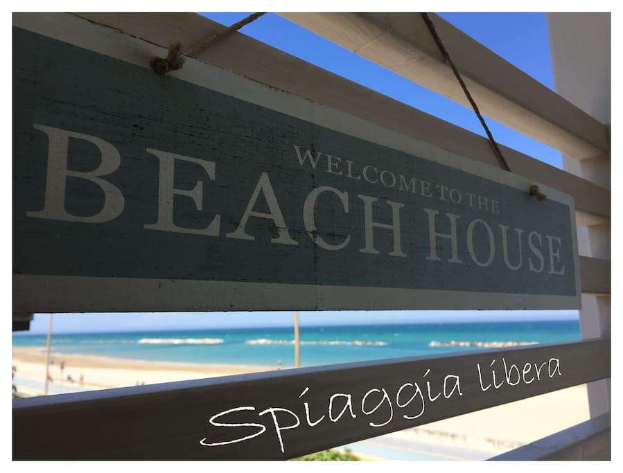 Beach House - Spiaggia Libera