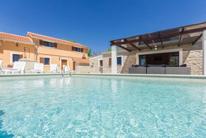 Villa Benic with private pool for 10 people,Istria - Žminj - Villa