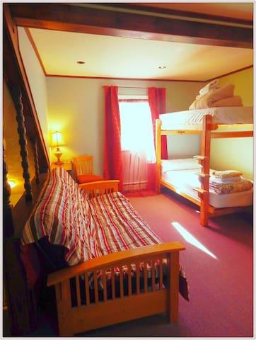 (A20) CoEd Main Dorm/2 Bunk Beds