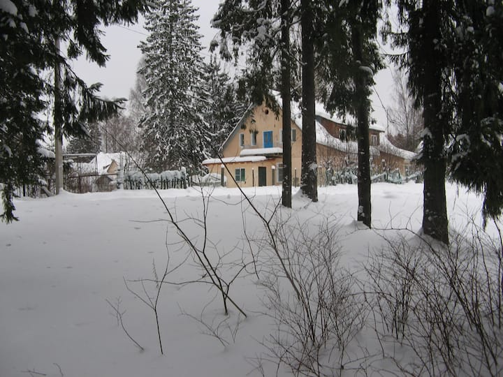 квартира в лесу с городским комфортом (п.Ильичёво)