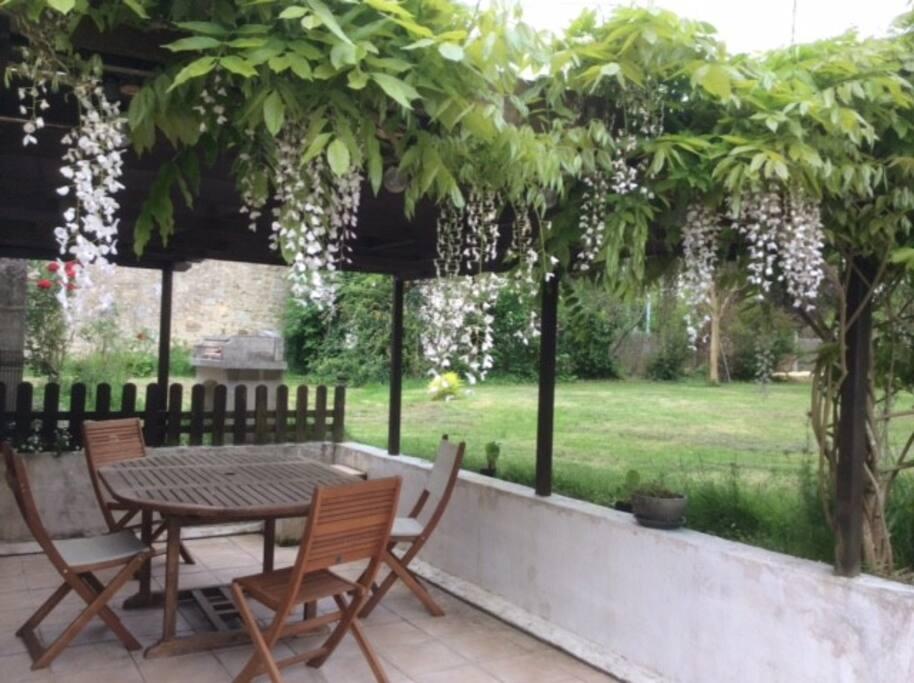 G te paisible avec piscine et grand jardin maisons for Location maison avec piscine ile d oleron