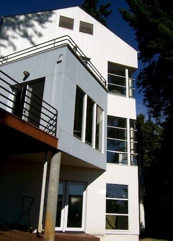 Quiet, Private, Master Suite w/fridge, cable, wifi - Corvallis - Huis