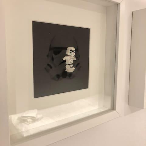 """The Empire Strikes Back"" - 2. Schlafzimmer im Erdgeschoss"