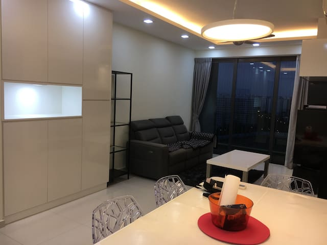 modern apartment in singapore