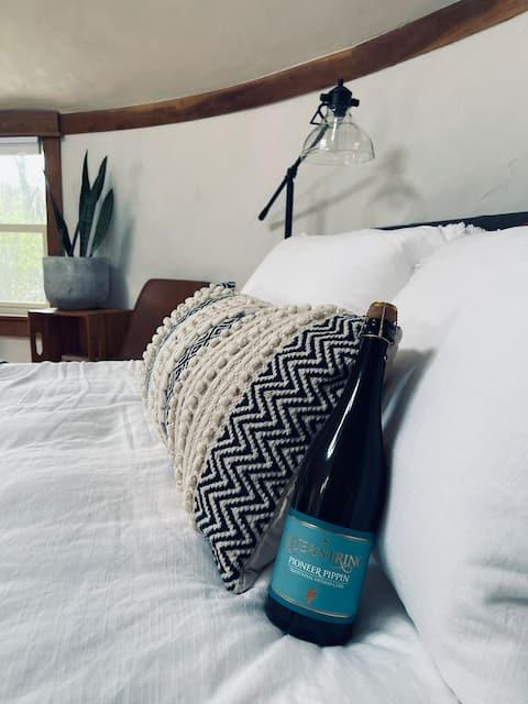 The Yurt @ Finger Lakes Cider House!
