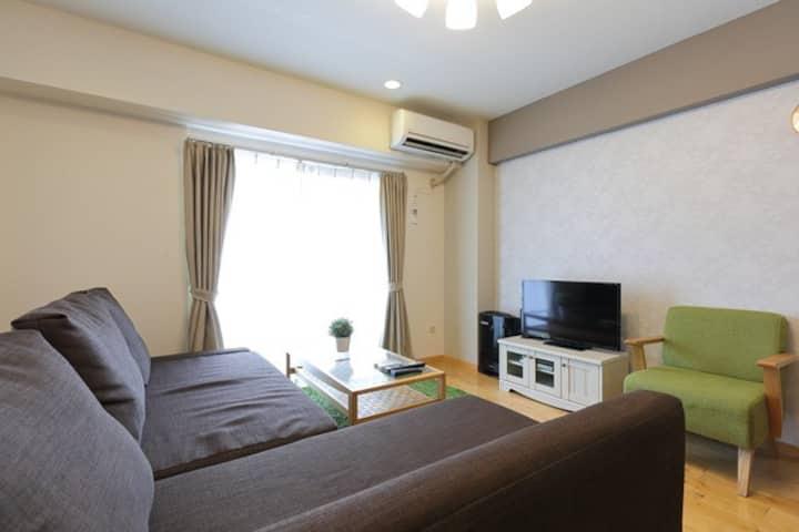 Kobe Center - 2BR tidy room 501