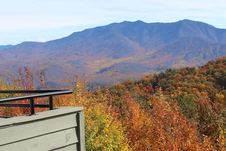 Smoky Mountain views in Summit condo