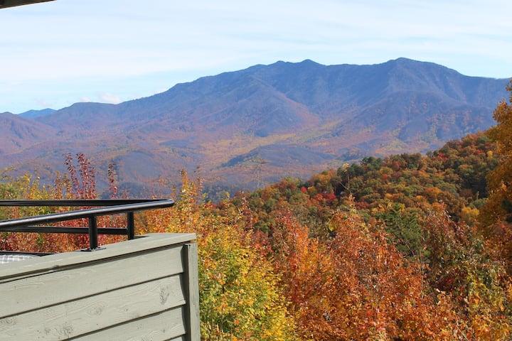 Smoky Mountain views in Summit condo