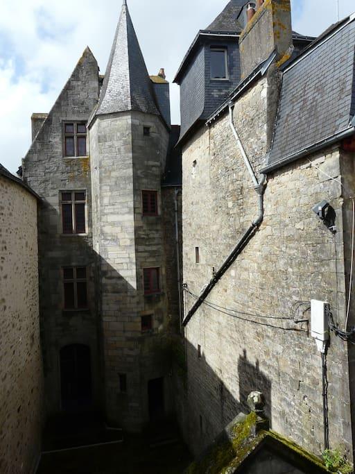 Vue sur le Château-Gaillard