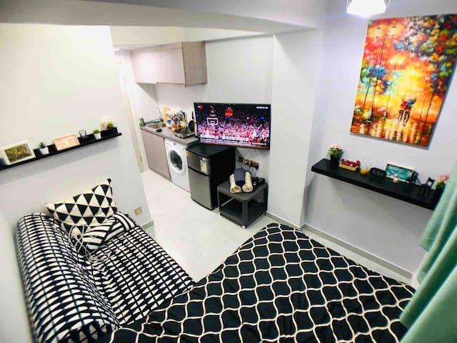 Decorated Cozy studio. 五分鐘到銅鑼灣時代廣場, 希慎廣場,SOGO崇光