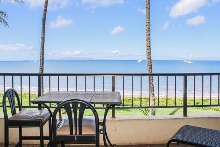 Sugar Beach Resort #215- 1BR Oceanfront Condo!