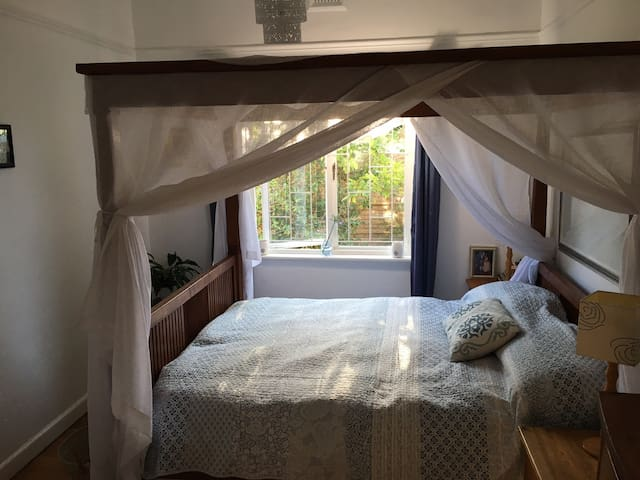 Main Bedroom, with walk in cupboard
