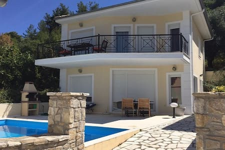 Thassos Golden Beach Luxury Villa for 6 Persons - Thasos - Casa
