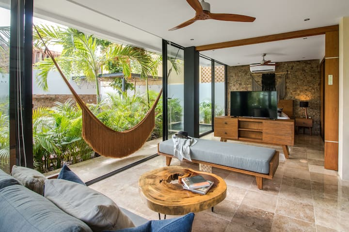 Enjoy your private plunge pool at Xintok Tulum
