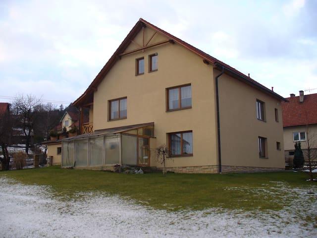 Ubytování v rodinném domě na Valašsku