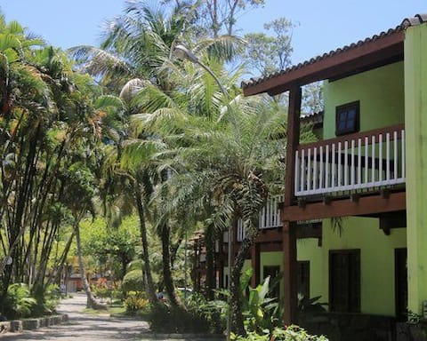 Casa no Resort Paúba Canto Sul, local paradisíaco