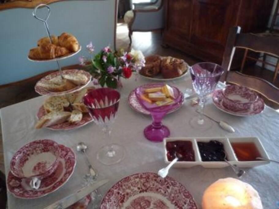 Le petit déjeuné