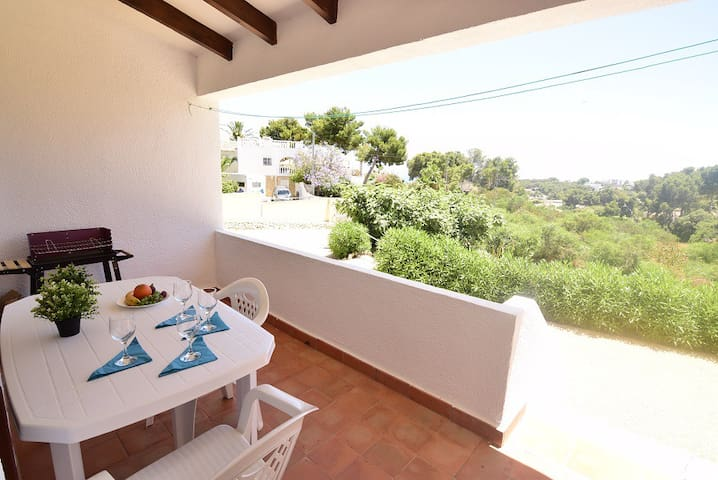 Bungalow in Moraira, pool and near the beach