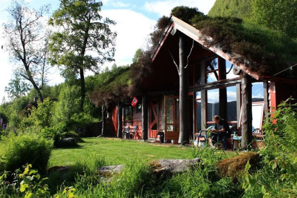 Småtroll, Our small cabin With 3 bedroms, total 7 beds.