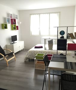 Large studio to 25min from Paris - Brétigny-sur-Orge - Huoneisto