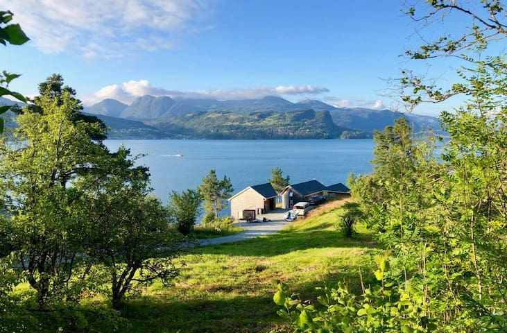 Unique house by the Hardanger Fjord
