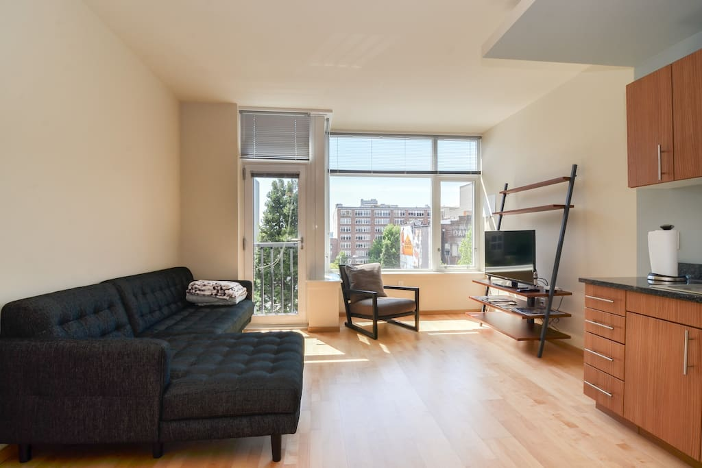 Luxury modern apt in downtown serviced apartments for rent in seattle washington united states for 1 bedroom apartments in seattle washington