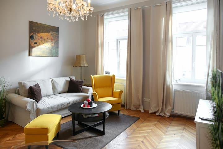 Typical Viennese Apartment close to City Center - Wenen - Appartement