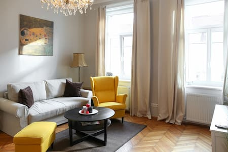 Typical Viennese Apartment close to City Center - Vienna - Apartamento