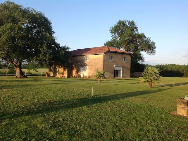 maison à la campagne - Mauléon d'armagnac