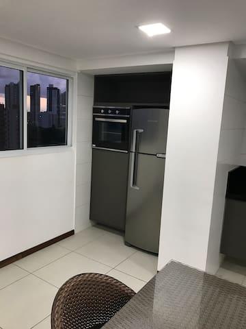 Área gourmet do condomínio (necessário reserva)