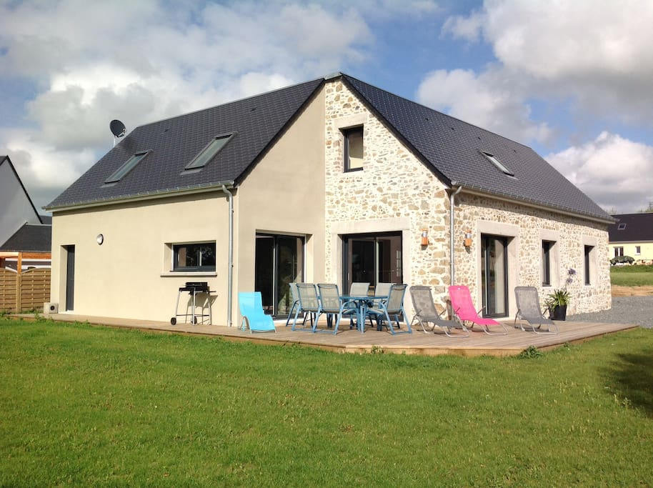 La Bergerie A 1 5 Km De La Mer Houses For Rent In Blainville Sur Mer Basse Normandie France