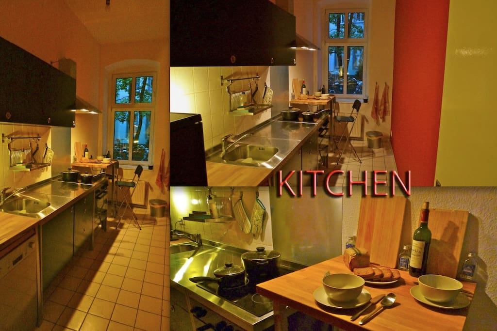 Fully furnished kitchen, everything you need to cook a masterchef meal !