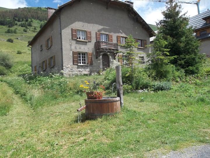 Logement situé à 1800m ,col de Larche ,Mercantour.