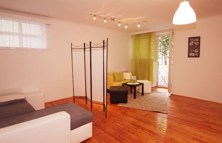 Cozy Balcony&1 Bdr 52 sqm Ap - Wien - Apartment