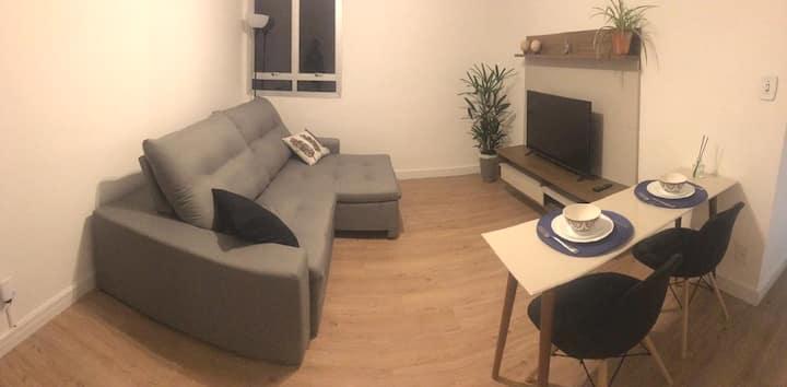 Apartamento novo meio do cambuí - Rua Barreto Leme