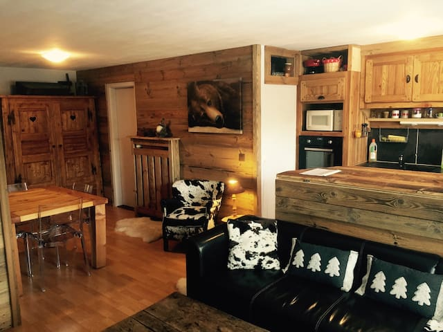 Cosy apartment in center of Crans - Crans-Montana - Appartement