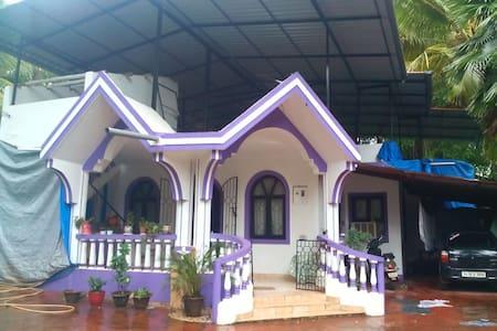 Simplistic yet elegant 2 BR bungalow @ Majorda - Majorda - Bungaló