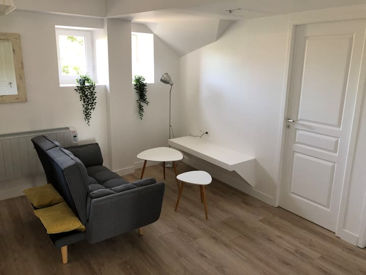 Appartement cosy axe Rennes - Saint Malo