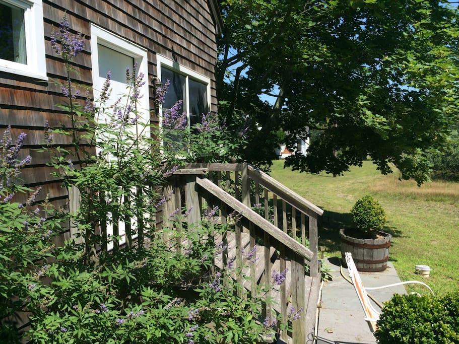 Entrance of Cottage