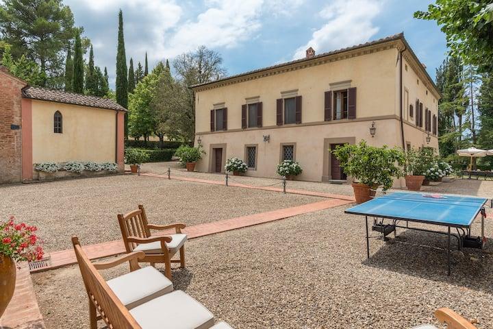 Villa Padronale in Agriturismo Tenuta La campana