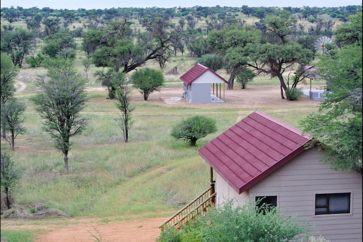 Beautiful chalets in the middle of the Kalahari!