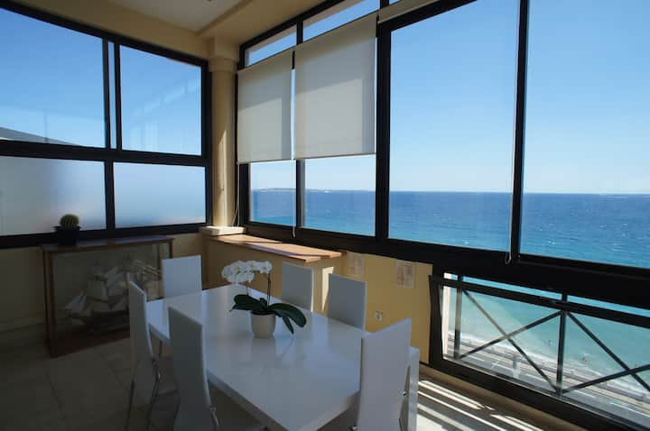 Duplex Cannes panoramic sea view