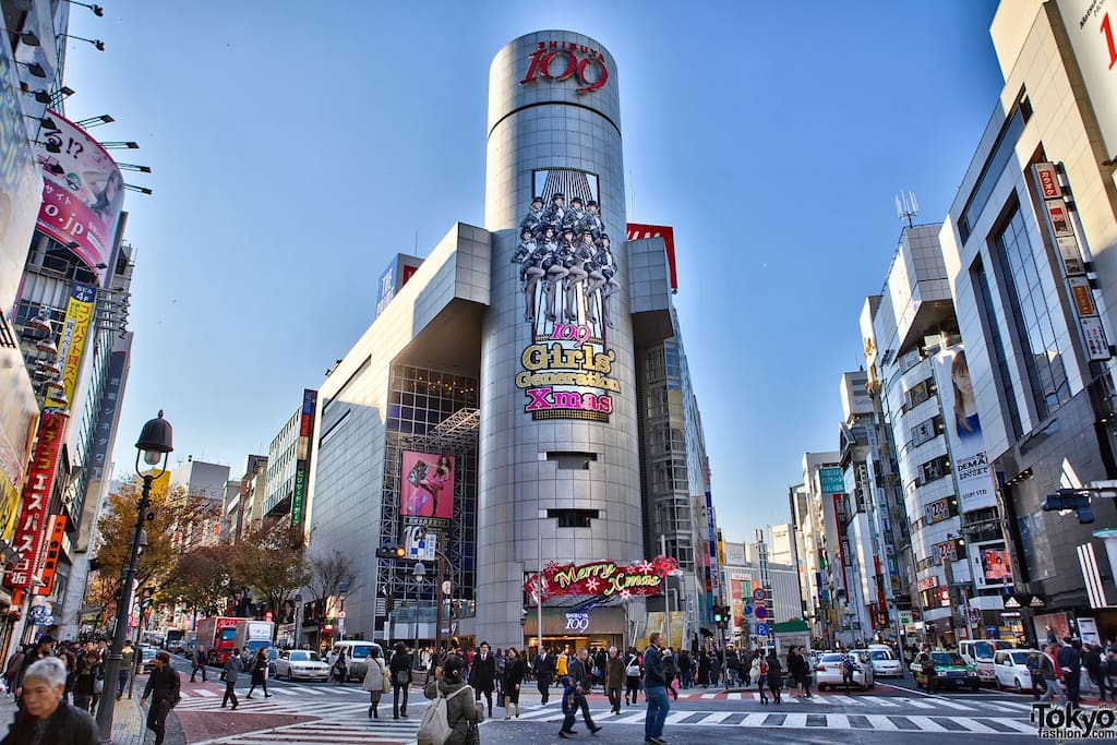 2stops from Shibuya Town