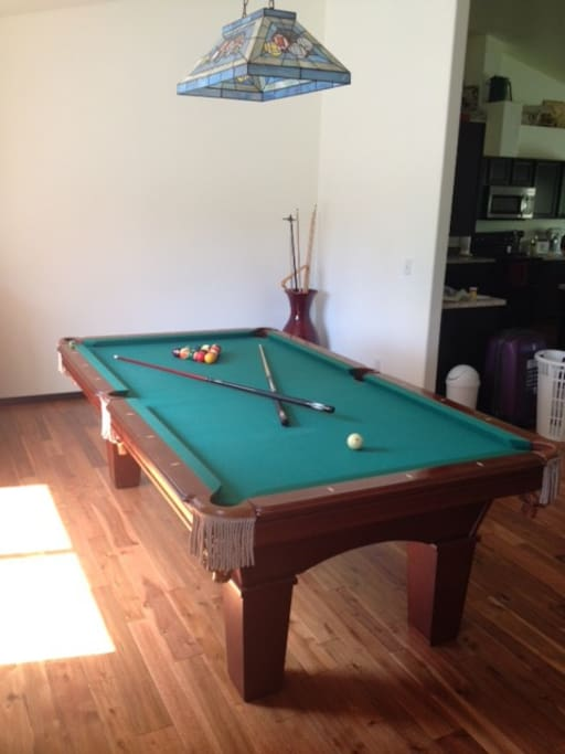 Championship pool table