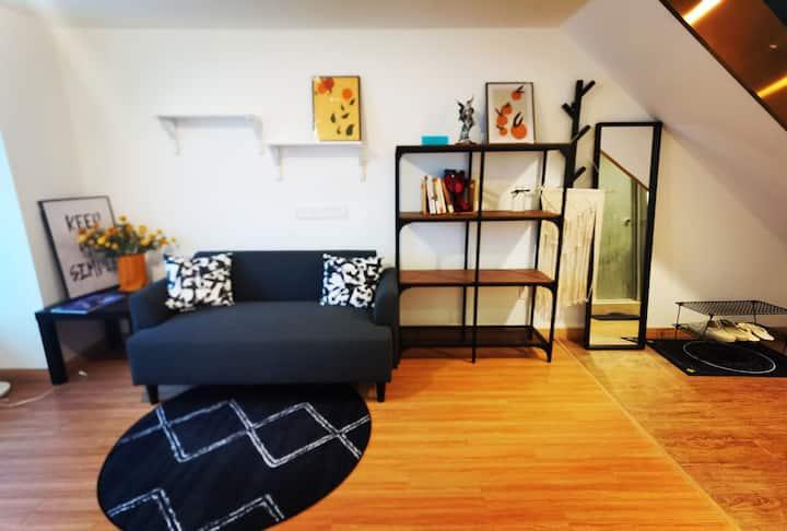 【寓哒】LOFT双卫公寓/宜家家居/长租优惠