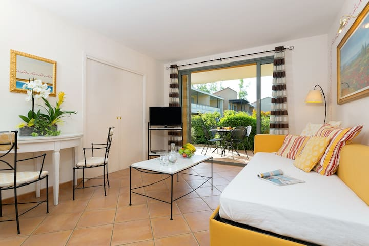 You will love the bright and open-concept living space in our unit.