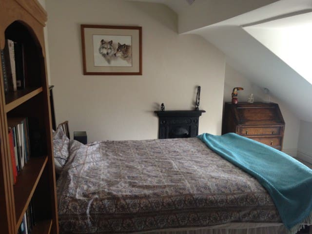 Double room,welcoming house,relaxed atmosphere.