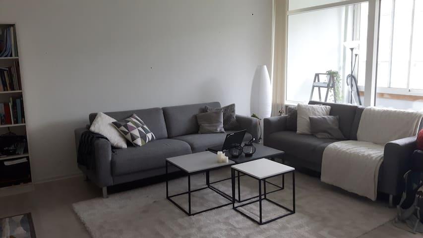 Beautiful, light 70 m2 apartment 16 min from KBH