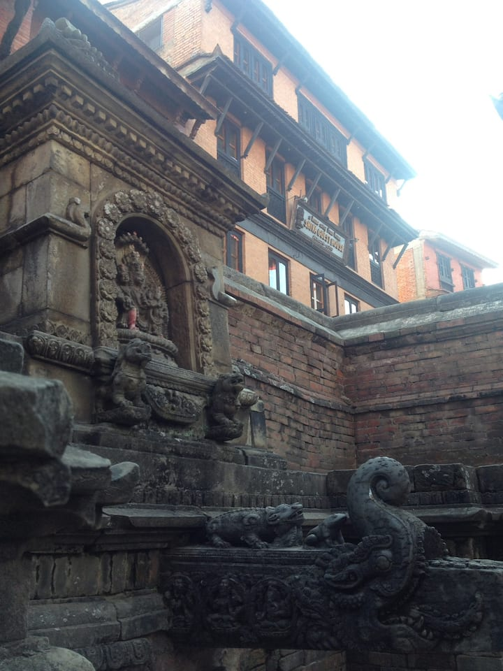 Observe the vibe of newari culture