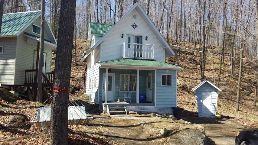 La petite maison dans les bois - Saint-elie-de-caxton - Casa